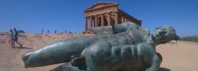 El impresionante Valle de los Templos (Agrigento)
